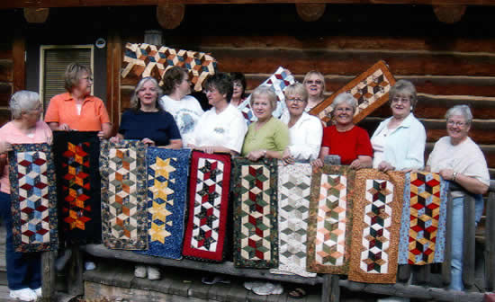Quilters at Retreat